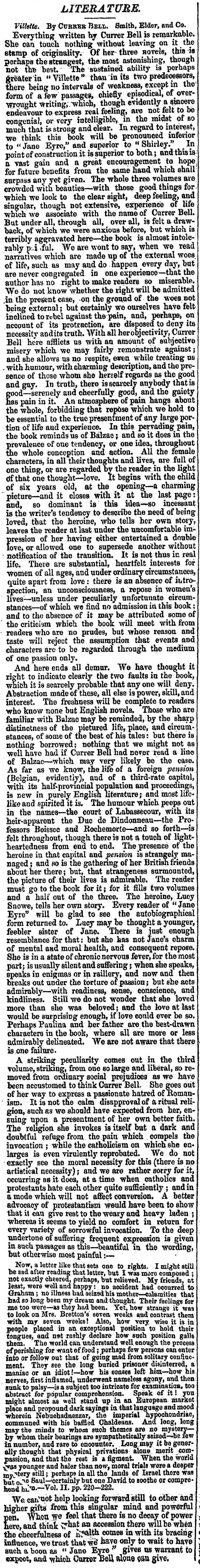 Daily News, Feb. 3, 1853, page 2